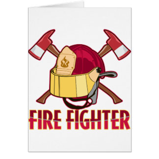 Fire Fighter Tribute Card