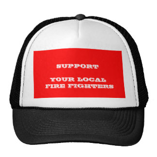 FIRE FIGHTERS MESH HAT