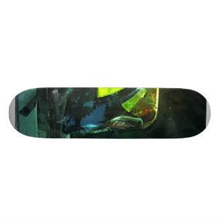Fire Fighter's Helmet Skateboard Deck