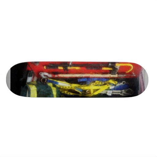 Fire Fighting Equipment Skateboard