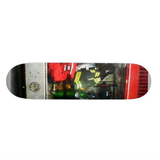 Fire Fighting Gear Skateboard Decks