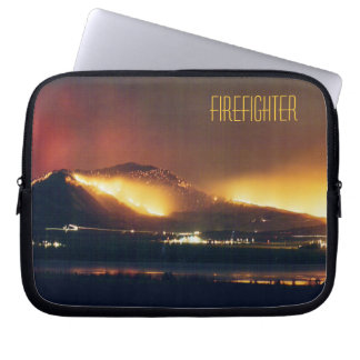 Fire Firefighter Laptop Sleeve