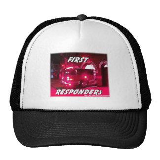 Fire First Responders show Trucker Hat