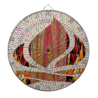 FIRE Flame symbol of SOUL POWER gifts fun festival Dart Boards