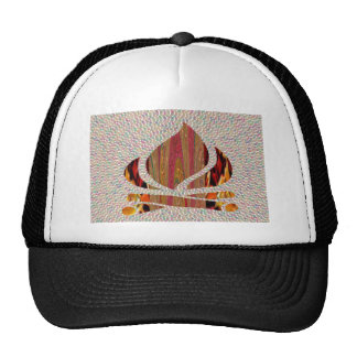 FIRE Flame symbol of SOUL POWER gifts fun festival Trucker Hat