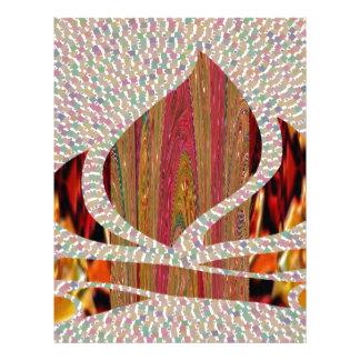 FIRE Flame symbol of SOUL POWER gifts fun festival Letterhead Design