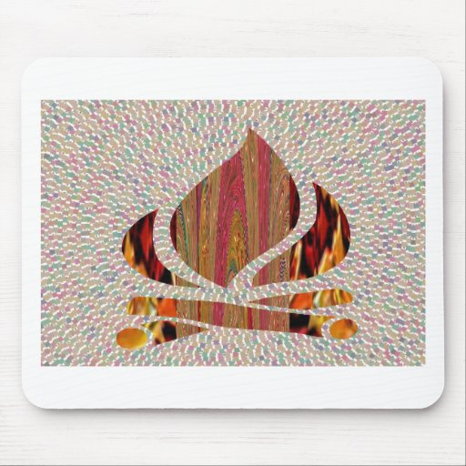 FIRE Flame symbol of SOUL POWER gifts fun festival Mouse Pads