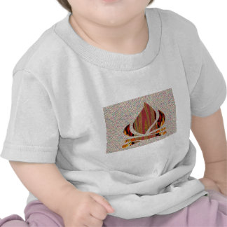 FIRE Flame symbol of SOUL POWER gifts fun festival Tee Shirts