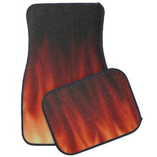 Fire Flames Car Mat