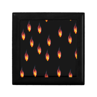 Fire flames gift box