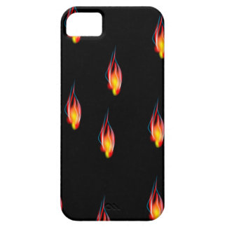 Fire flames iPhone 5 cases