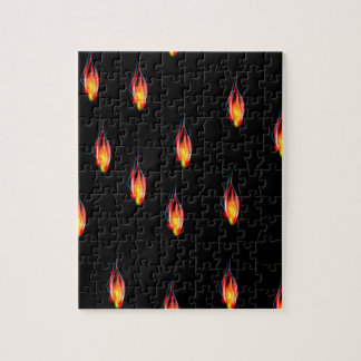 Fire flames jigsaw puzzle