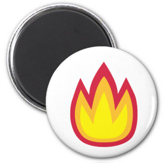 Fire flames magnet
