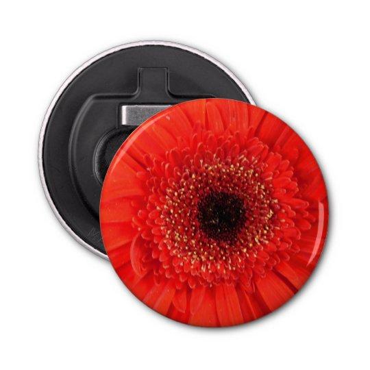 Fire Flower Button Bottle Opener