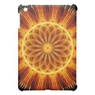 Fire Flower Mandala Case For The iPad Mini