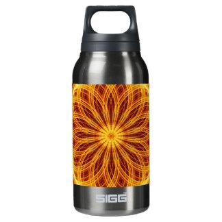 Fire Flower Mandala Insulated Water Bottle