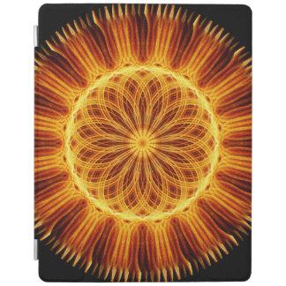 Fire Flower Mandala iPad Cover