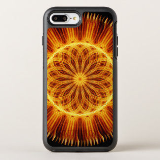 Fire Flower Mandala OtterBox Symmetry iPhone 7 Plus Case