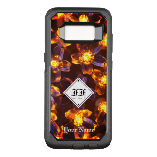 """Fire Flower"" String Lights OtterBox Commuter Samsung Galaxy S8 Case"