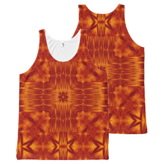 Fire Flowers 215 TT1 SDL All-Over-Print Tank Top