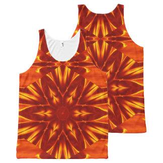 Fire Flowers 8 TT1 SDL All-Over-Print Tank Top
