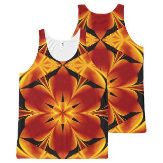 Fire Flowers 94 TT1 SDL All-Over-Print Tank Top