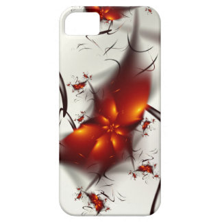 Fire Flowers & Ashes Abstract Fractal iPhone 5 Covers