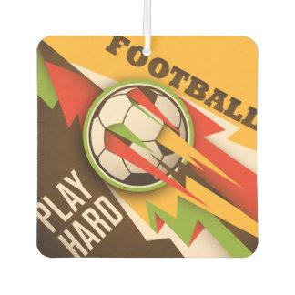 Fire Football Soccer Sport Ball Air Freshener