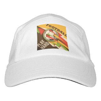 Fire Football Soccer Sport Ball Hat