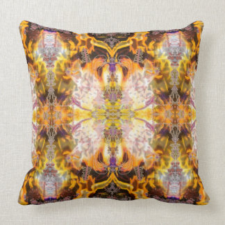 Fire GaGa Alchemy of Change Pillow by Deprise