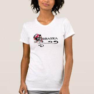 Fire Heart Nebraska T-Shirt