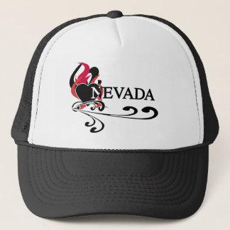 Fire Heart Nevada Trucker Hat