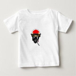 Fire Helmet Baby T-Shirt