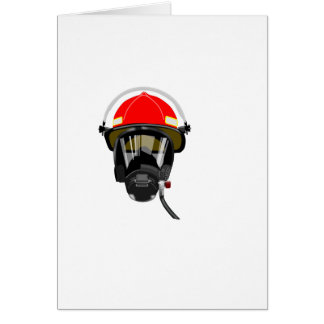 Fire Helmet Card