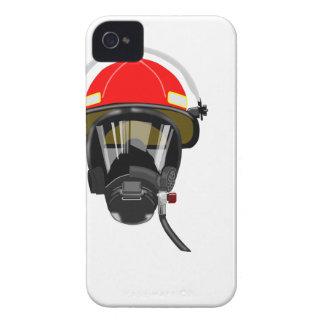 Fire Helmet iPhone 4 Case-Mate Case