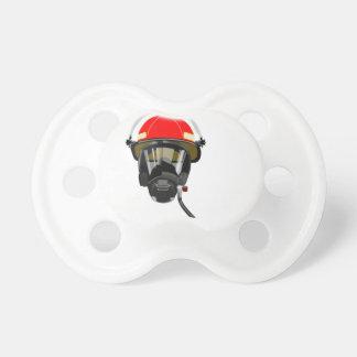 Fire Helmet Pacifier