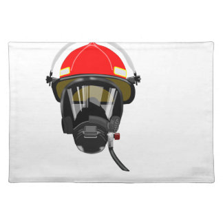 Fire Helmet Placemat