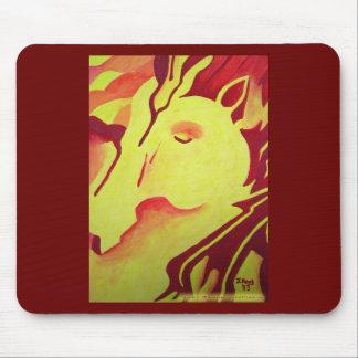 Fire Horse Mousepad