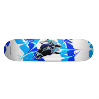Fire horse skate board decks