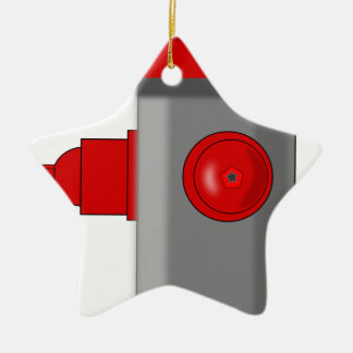 Fire Hydrant Ceramic Ornament