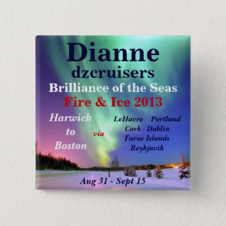 fire ice brilliance 2013 august name tag 2 inch square button