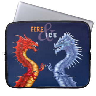 FIRE & ICE LAPTOP SLEEVE
