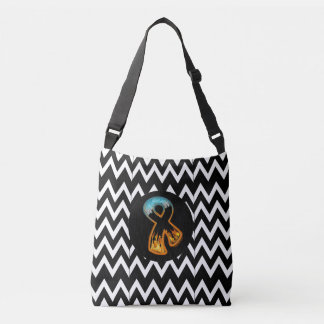 Fire & Ice Ribbon Crossbody Bag