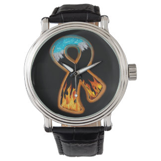 Fire & Ice Ribbon Wristwatch