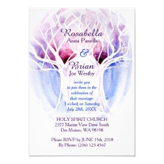 Fire & Ice Wedding Invitations - Crystal Tree