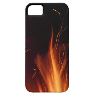 Fire in summer night. iPhone 5 covers
