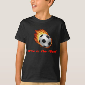 Fire in the Goal tee