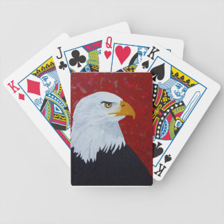 Fire In The Sky Eagle. Bicycle Playing Cards