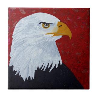 Fire In The Sky Eagle. Ceramic Tiles