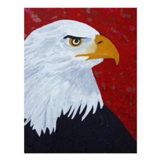 Fire In The Sky Eagle. Letterhead